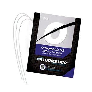 Arco de Aço Estético SS Rhodium Inferior Redondo Orthometric