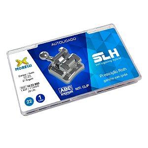 """Kit de Bráquetes Prescrição Roth SLH .022"""" Morelli"""