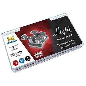 """Kit de Bráquetes Prescrição MBT Light HP Biodimensional .018""""/.022"""" Morelli"""