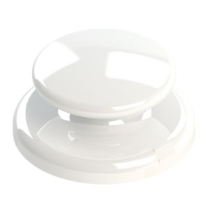 Botão Lingual Ceramic para Colagem Ø 3,8mm Morelli