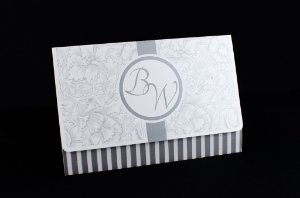 Convites de casamento - Clássico 03
