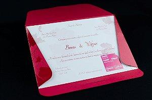 Convites de casamento - Clássico 06