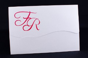 Convites de casamento - Clássico 09