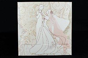 Convites de casamento - Romântico 05