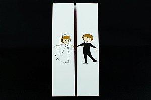 Convites de casamento - Moderno 06