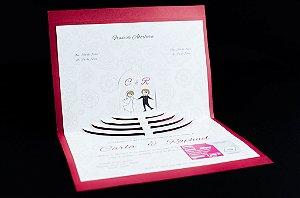 Convites de casamento - Especial 04