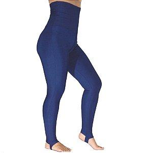 Calça Legging Cintura Alta Modeladora Azul Marinho