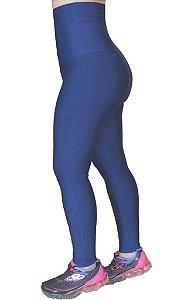 Calça Legging Cintura Alta Modeladora Sem Pezinho Azul marinho