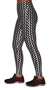 Calça Legging Cirre Estampa com Brilho 3D