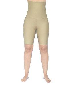 Bermuda Cintura Alta Modeladora Nude Fitness