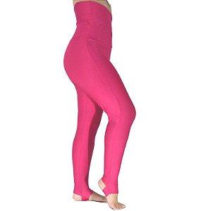Calça Legging Cintura Alta Modeladora Rosa