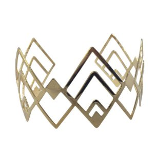 Bracelete Étnico dourado