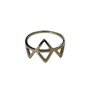 Anel Triângulos A níquel
