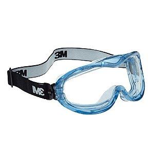 Oculos Fahrenheit Ampla-visao Anti-embacante Transparente : 3M