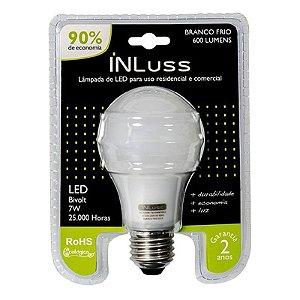 Lampada Bulb. Led 7WE27 Biv   Branco : Inluss