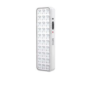 Luminaria Emergencia  30 Leds Bivolt Bateria Litio Branco : Elgin