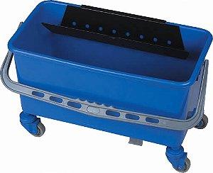 Balde Aplicador De Cera Com Escorredor   Azul : Bralimpia (2394)