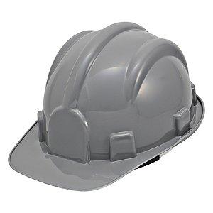 Capacete Aba Frontal Classe A C/Suspensao Cinza : Pro Safety (3333)