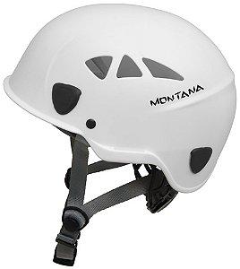 Capacete Alpinismo Ares Tipo III Classe A C/ Catraca Branco : Montana (4140)
