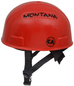 Capacete Alpinismo Focus Eletro Tipo III Classe B C/ Catraca Vermelho : Montana (4142)