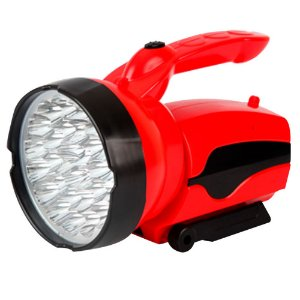Lanterna 30 LED Rec. Bivolt   Vermelho : Brasfort (4504)