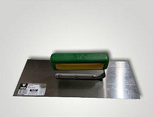 Desempenadeira Aço Inox Lisa Galo 12x29 Cm