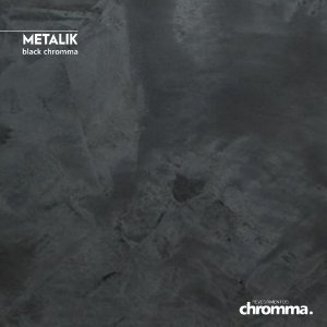 Metalik Chromma BLACK - Pote 1,15kg