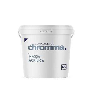 Massa Acrilica Chromma Pote 1,50kg Pequenos Reparos