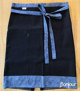 Meio Avental Masculino Jeans