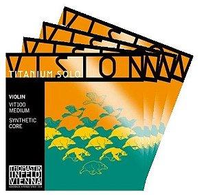CORDAS VISION TITANIUM SOLO PARA VIOLINO