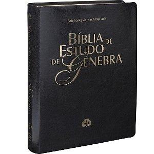 Bíblia de Estudo de Genebra - RA - Preto Nobre