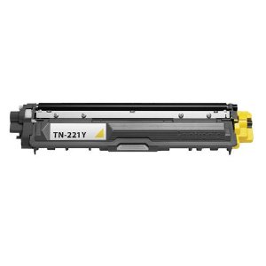 Cartucho de Toner Brother TN-221Y TN221 Yellow (Amarelo) | HL3140 HL3170 DCP9020 MFC9130 MFC9330 MFC9020 | Premium 2.2k