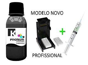 Tinta Pigmentada Canon + Snap Fill para Cartuchos PG 140 | PG 145 | PG 210