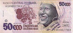 Réplicas Ensaio Rendeira, Gaúcho, Baiana e Anísio Teixeira - Família Cruzeiros Reais