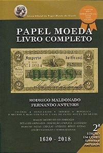 Catálogo Rodrigo Maldonado | Fernando Antunes - Livro Completo - 2ª edição em cores - 1630 à 2018