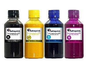 Kit 4 Tinta Pigmentada PGI-1100 | PGI-2100 - MB-2010 MB-5310 IB-4010