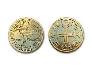 Moeda 400 Réis 1932 4° Centenário da Colonização Brasil - RÉPLICA
