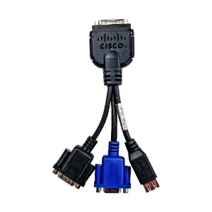 Cabo Dongle KVM Cisco servidor ucs 69-2477-01 vga usb db9 serial