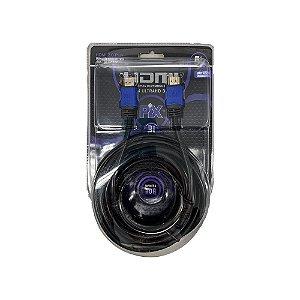 Cabo HDMI Premium 2.0 4K HDR 19P 5M Com Filtro