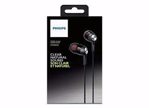 Fone De Ouvido Philips Intra-auricular She8000 Profissional