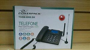 Power Parck Telefone Fixo Com Função Gsm 4 Band