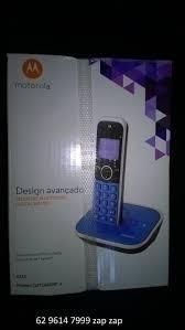 Telefone Motorola Gate 4800bt-a Bluetooth/ Digital Sem Fio