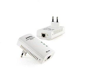 Repetidor e transmissor  De Internet Via Rede Eletrica - Zinwell