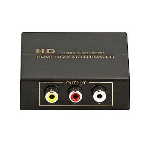 Conversor De Vídeo Hdmi Para RCA  Auto Scaler