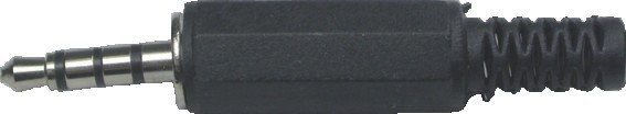 Plug P2 3,5mm 3 Vias Estéreo 4c