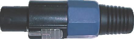 Plug Canon Macho Speakon 4 Vias