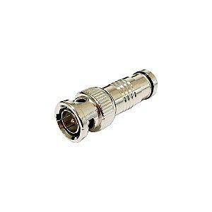 Plug Bnc Para Sdi Rg6 Profissional  -Tblack