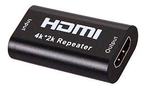 Repetidor HDMI 2.0 ativo HDM Até 40m
