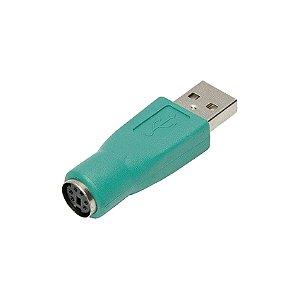Adaptador Ps2 Fêmea Para Usb Macho mouse - importado