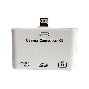 Adaptador 5 Em 1 Sd Usb Para Iphone 5